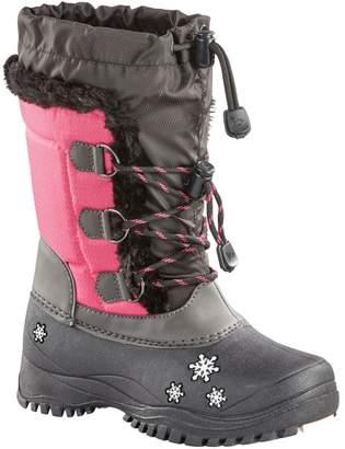 Baffin Girl's Snowflake Ellie Faux Fur-Trim Waterproof Winter Boots