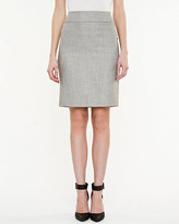 Le Château Woven Pencil Skirt