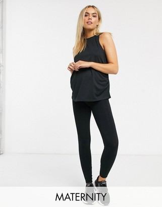 Asos 4505 4505 Maternity icon legging in cotton touch