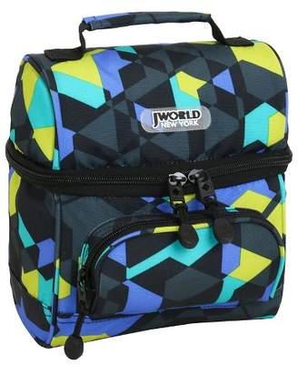 J World JWorld Corey Lunch Bag - Cubes
