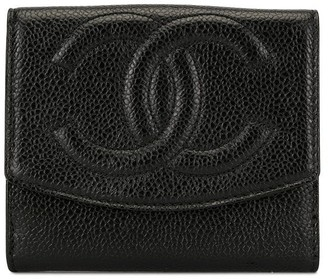 Chanel Pre Owned CC bi-fold wallet