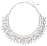 Nina Women's Crystal Drama Collar Necklace