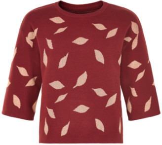 Nümph Fired B Lettice Pullover - 7419213 - cotton and metallic | m