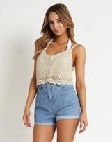 South Beach Crochet Crop Top