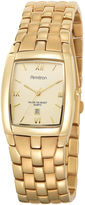 JCPenney Armitron Mens Gold-Tone Watch