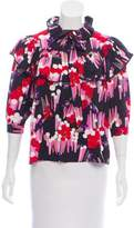 Marc Jacobs Abstract Printed Oversize Top