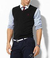 Polo Ralph Lauren Pima V-Neck Sweater Vest