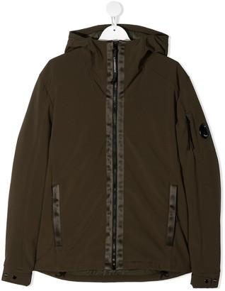 C.P. Company Kids TEEN zipped hooded jacket