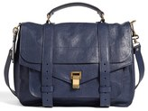 Proenza Schouler 'Large Ps1' Satchel - Blue