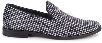 Sperry Houndstooth Slip-On Loafers