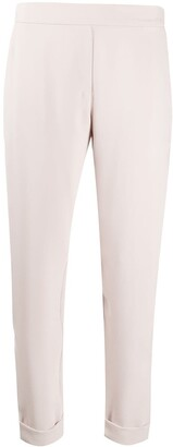 P.A.R.O.S.H. High-Waisted Cropped Trousers