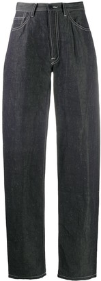 Sunnei High-Rise Straight Jeans