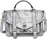 Proenza Schouler PS1+ Metallic Embossed Satchel Bag