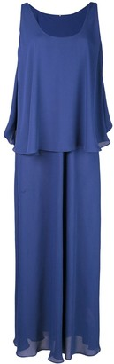Peter Cohen Layered Maxi Dress
