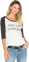 Clayton Out Of Control Baseball Tee