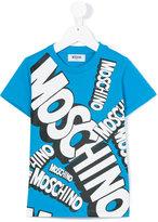 Moschino Kids - print T-shirt - kids - Cotton - 5 yrs