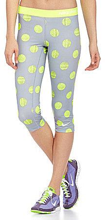 Nike Pro Polka-Dot Workout Capri Pants