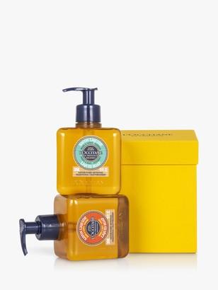 L'Occitane Hand Wash Duo Bodycare Gift Set, 2 x 300ml