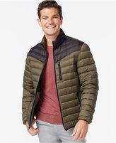 INC International Concepts Color-Blocked Down Packable Jacket