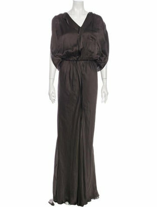 Lanvin 2009 Long Dress Grey