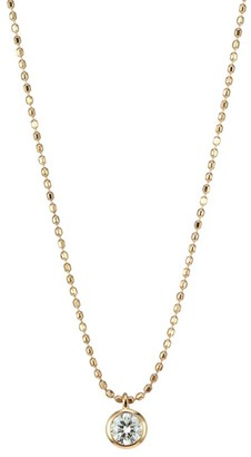 ginette_ny Lonely Diamond Pendant Necklace