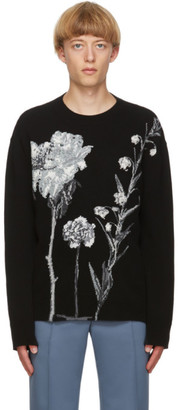 Valentino Black Inez and Vinoodh Edition Cashmere Sweater