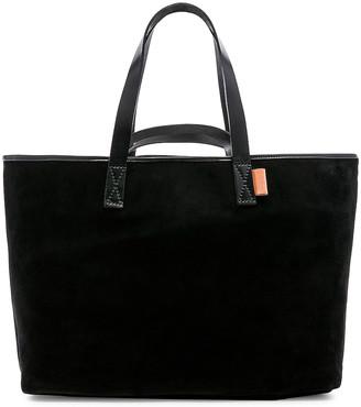 Hender Scheme Leather Tote in Black | FWRD