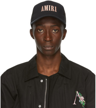Amiri Black Logo Cap