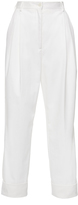 Dolce & Gabbana Pleat Front Cropped Pant