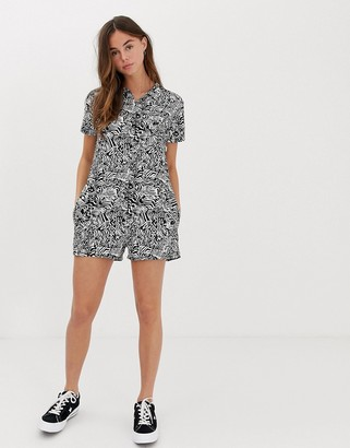 Quiksilver playsuit in black
