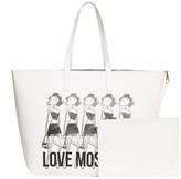 Love Moschino Logo Print Tote