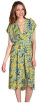 BCBGMAXAZRIA - Thia Pleated Wrap Dress
