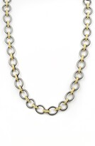 Freida Rothman Signature Two-Tone Link Necklace