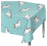Spritz Unicorn Blue Disposable Table Cover - Spritz