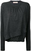 Marni knitted sweater - women - Virgin Wool - 42