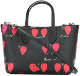 Alexander McQueen all-over print tote