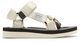 A.P.C. X Suicoke Depa-v2 Webbing Sandals - Cream
