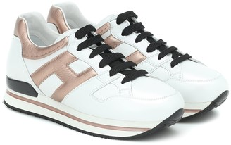 Hogan H222 leather sneakers