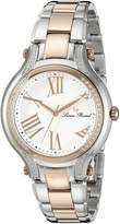 Lucien Piccard Women's LP-16353-SR-22 Elisia Analog Display Quartz Two Tone Watch