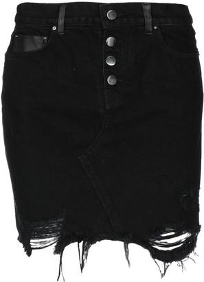 Amiri Denim skirts