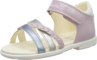 Geox Girl's Verred Pearl Strappy Sandal