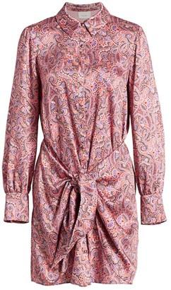 Cinq à Sept Gaby Psychedelic Paisley Mini Dress