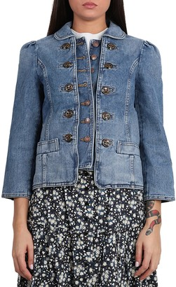 Marc Jacobs Fitted Denim Jacket