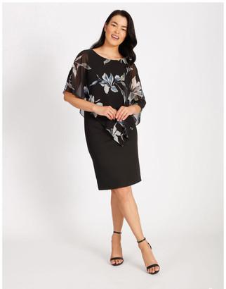 Collection Asymmetrical Overlay Dress