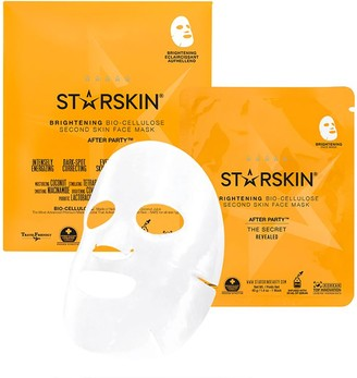 Starskin After Party Coconut Bio-Cellulose Second Skin Brightening Face Mask