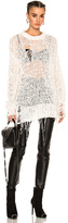 R 13 White Out Sweater