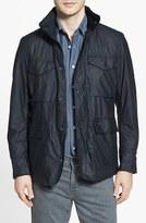Barbour Men's 'Sapper' Tailored Fit Weatherproof Waxed Jacket