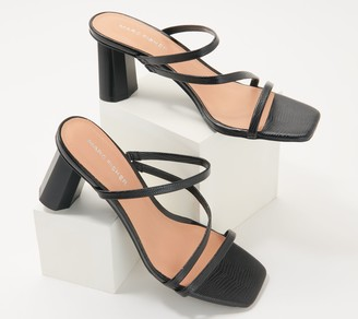 Marc Fisher Strappy Heeled Sandals - Aliana