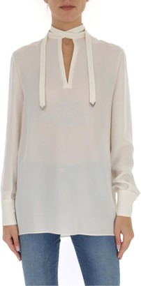 Valentino Bow Detail Blouse