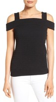 MICHAEL Michael Kors Petite Women's Cold Shoulder Top
